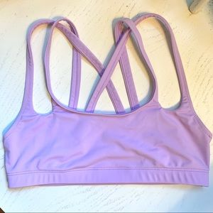 mara hoffman sports bra / bikini top